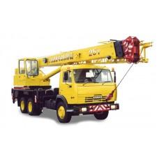 Кран автомобильный «Галичанин» г/п 25 тонн